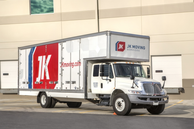 JK Moving truck