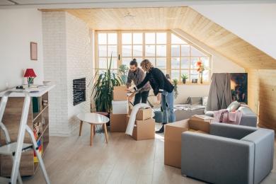 Apartment move - unpacking